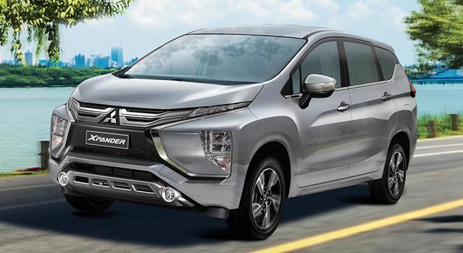 2021 Mitsubishi Xpander exterior quarter front Philippines