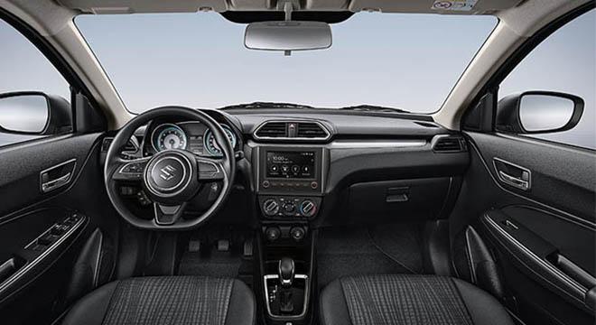 2021 Suzuki Dzire cabin