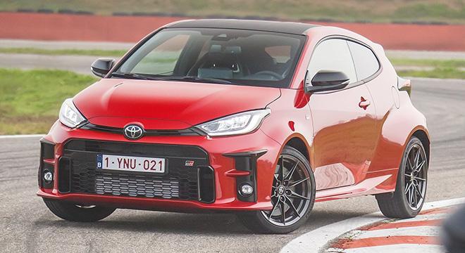 2021 Toyota GR Yaris red