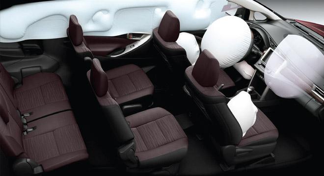 2021 Toyota Innova interior airbags Philippines
