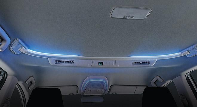 2021 Toyota Innova interior ambient lighting system Philippines