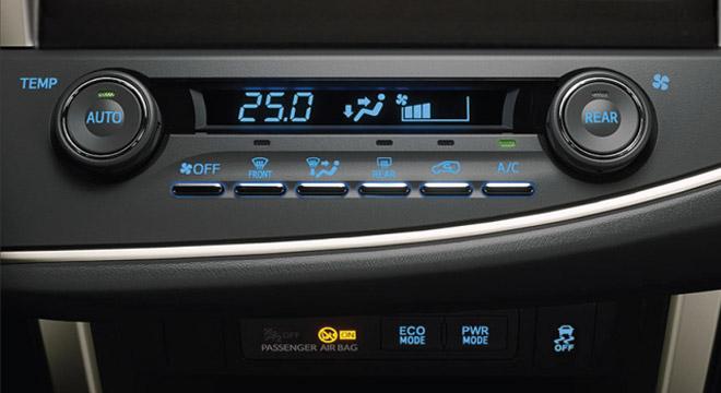 2021 Toyota Innova interior climate control Philippines