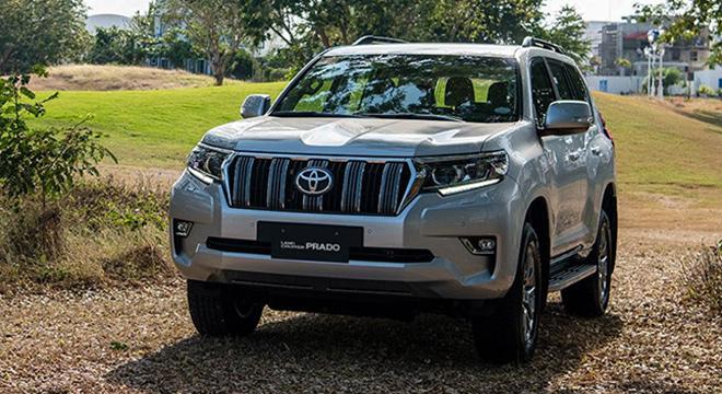 2021 Toyota Prado exterior front Philippines