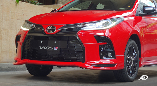 2021 Toyota Vios exterior front Philippines