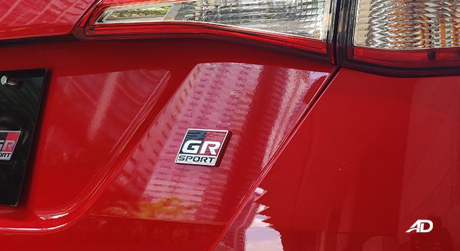 2021 Toyota Vios exterior GR-S badge Philippines