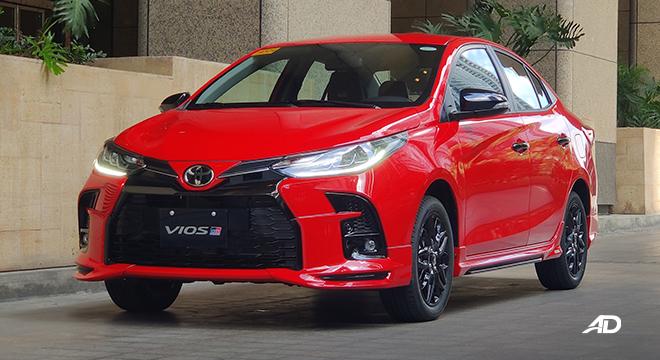 2021 Toyota Vios exterior quarter front Philippines