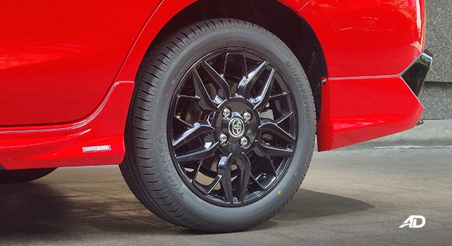 2021 Toyota Vios exterior wheels Philippines