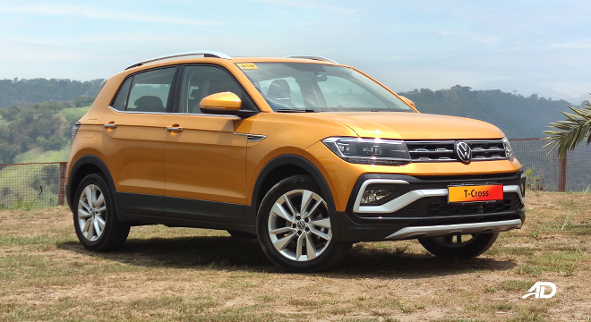 2021 Volkswagen T-Cross exterior quarter front Philippines