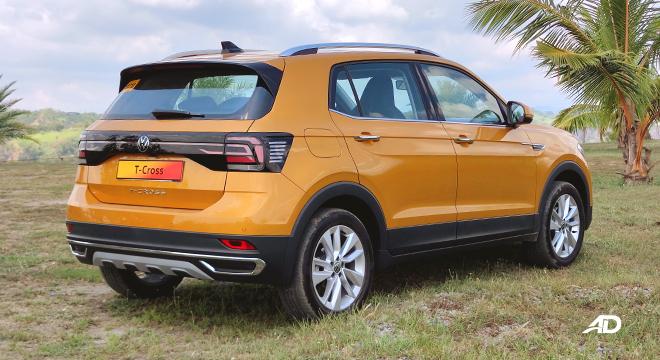 2021 Volkswagen T-Cross exterior quarter rear Philippines