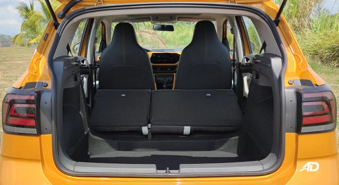 2021 Volkswagen T-Cross interior cargo area Philippines