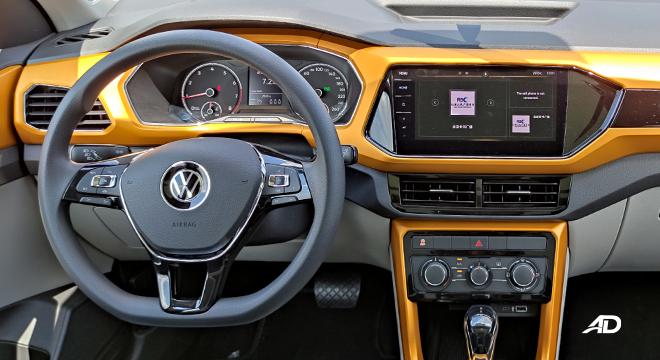 2021 Volkswagen T-Cross interior dashboard Philippines