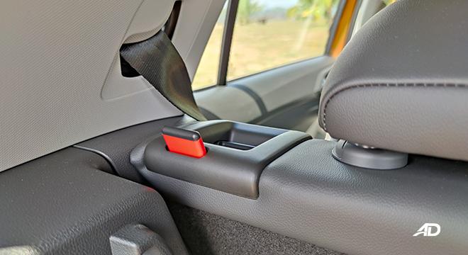 2021 Volkswagen T-Cross interior folding second-row seats Philippines