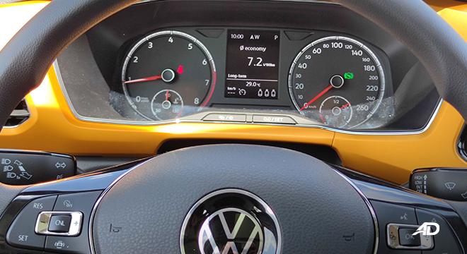 2021 Volkswagen T-Cross interior gauge cluster Philippines