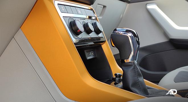 2021 Volkswagen T-Cross interior gear shifter Philippines