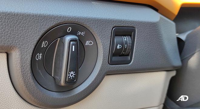 2021 Volkswagen T-Cross interior light headlight controls Philippines