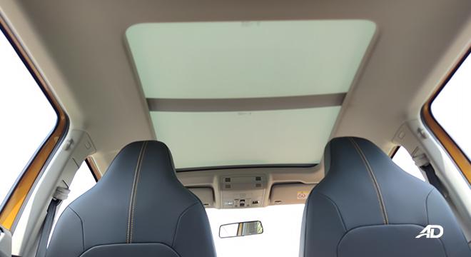 2021 Volkswagen T-Cross interior panoramic sunroof Philippines
