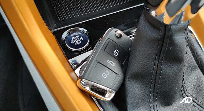 2021 Volkswagen T-Cross interior push-start button Philippines
