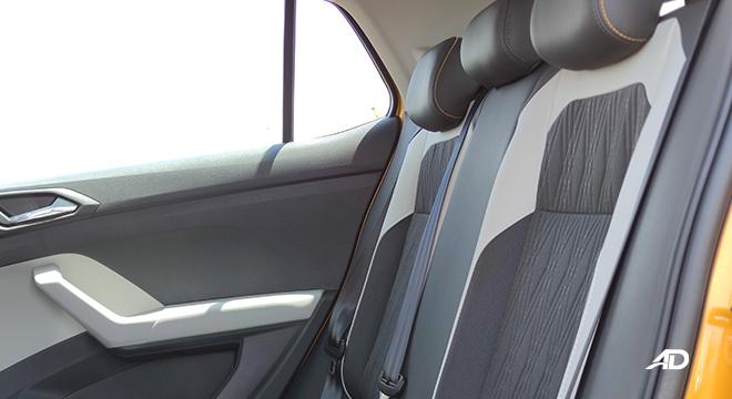 2021 Volkswagen T-Cross interior rear seats Philippines