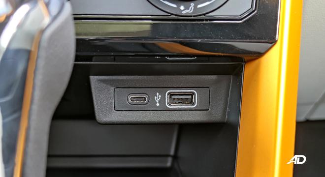 2021 Volkswagen T-Cross interior USB ports Philippines