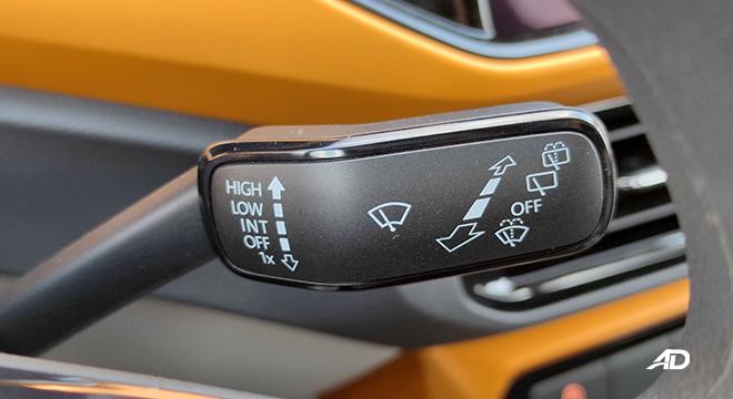 2021 Volkswagen T-Cross interior wiper controls Philippines
