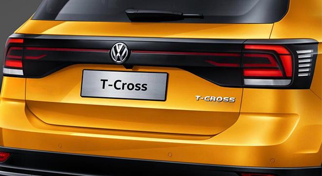 2021 Volkswagen T-cross rear philippines