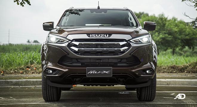 2022 Isuzu mu-X exterior front Philippines