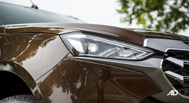 2022 Isuzu mu-X exterior headlights Philippines