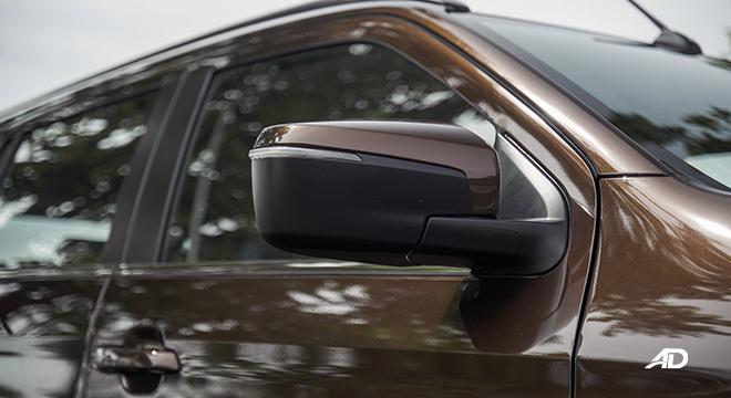 2022 Isuzu mu-X exterior side mirror Philippines