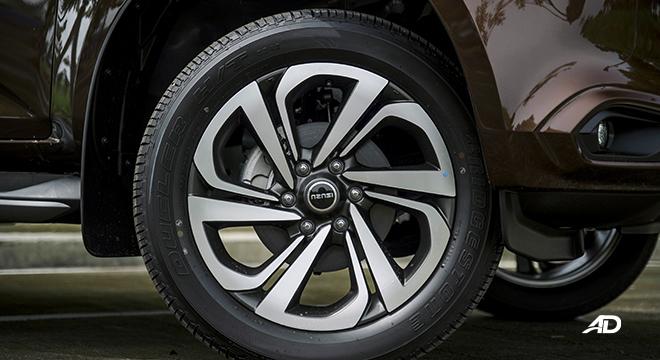 2022 Isuzu mu-X exterior wheels Philippines
