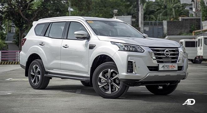 2022 Nissan Terra exterior quarter front Philippines