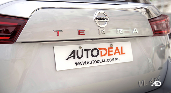 2022 Nissan Terra exterior rearPhilippines
