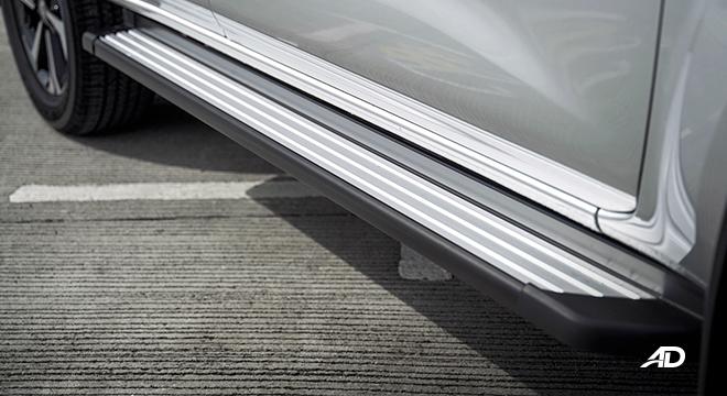 2022 Nissan Terra exterior setpboards Philippines