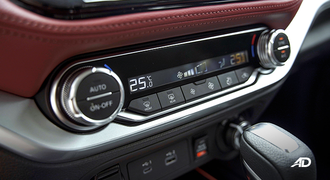 2022 Nissan Terra interior climate control Philippines