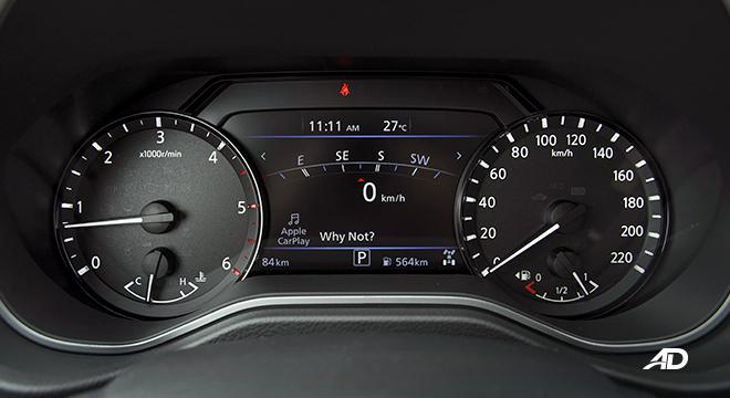 2022 Nissan Terra interior digital gauges Philippines
