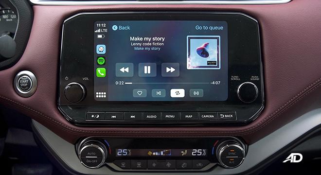 2022 Nissan Terra interior infotainment system Philippines