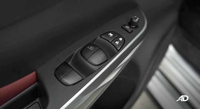 2022 Nissan Terra interior infotainment window controls Philippines