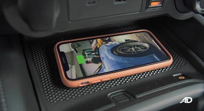 2022 Nissan Terra interior infotainment wireless charger Philippines