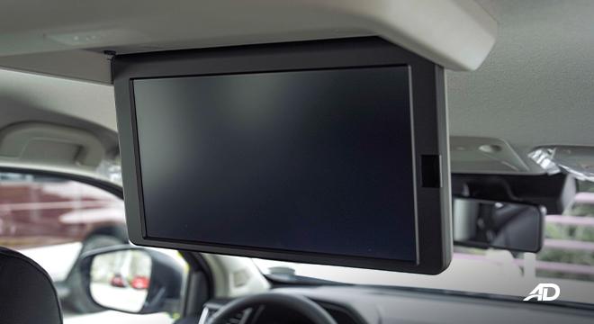 2022 Nissan Terra interior rear monitor Philippines