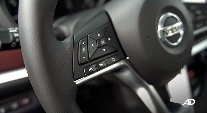 2022 Nissan Terra interior steering wheel controls Philippines