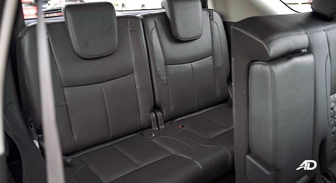 2022 Nissan Terra interior third-row seats Philippines