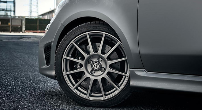 Abarth 659 Rivale 2019 wheel