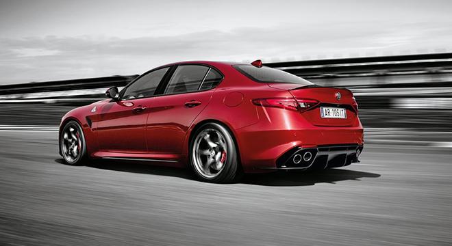 Alfa Romeo Giulia 2018 rear
