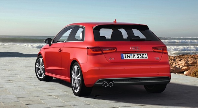 Audi A3 Hatchback 2018 Philippines Rear Red