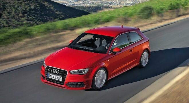 Audi A3 Hatchback 2018 Philippines Red