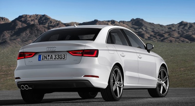 Audi A3 Sedan 2018 Philippines Rear