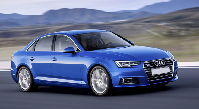 Audi A4 2018 Philippines Blue
