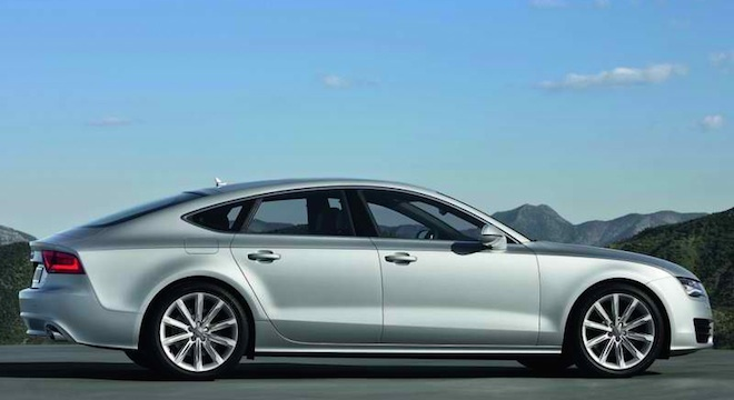 Audi A7 2018 Philippines Side