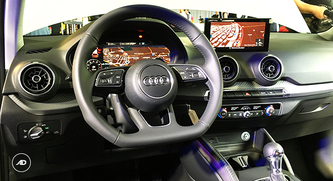 Audi Q2 2018 Philippines Steering Wheel