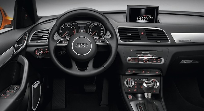 Audi Q3 2018 Philippines Steering Wheel