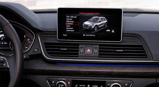 Audi Q5 2018 Philippines Dashboard